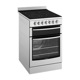 54cm Electric oven with ceramic hob