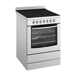 60cm Electric oven with ceramic hob