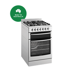 54cm Electric oven with gas hob