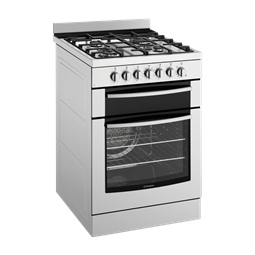 60cm Electric oven with gas hob