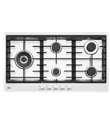 90cm 5 burner stainless steel gas cooktop: HG90FXA
