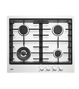 60cm Stainless Steel Gas Cooktop: HG60FXA