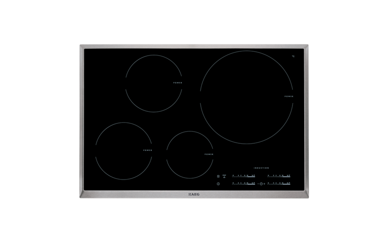 AEG 80cm 4 Zone Full Induction Hob HK854220XB