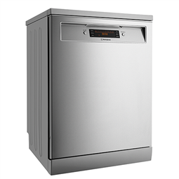 Stainless steel freestanding dishwasher