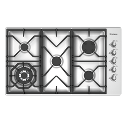 90cm gas cooktop with side controls