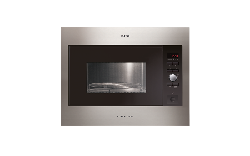 AEG Built-In Duo Microwave with Grill MCD2664E-M