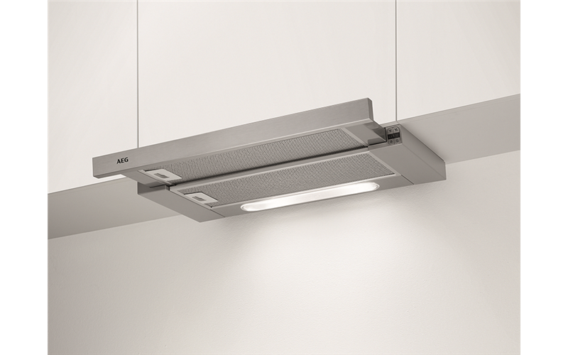 AEG 60cm telescopic rangehood, stainless steel DPB5650M/A