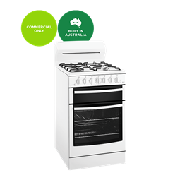 White 54cm freestanding gas cooker