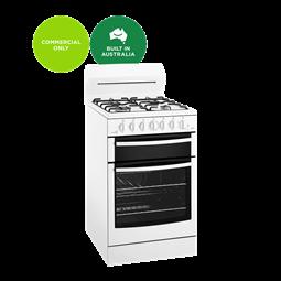 White 54cm freestanding gas cooker