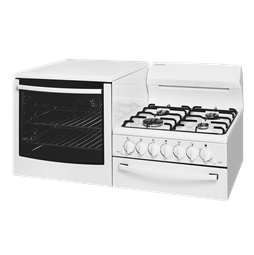 Elevated Gas Freestanding cooker