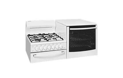 Elevated gas Freestanding cooker  (WDG103WB) - Westinghouse Australia
