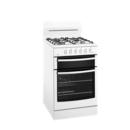 White 54cm Freestanding Cooker