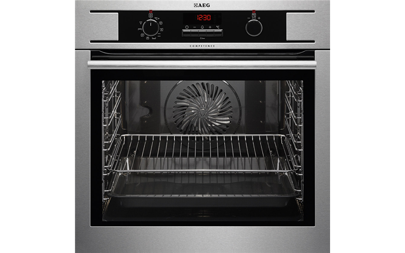 AEG 60cm OptiSight MaxiKlasse Multifunction Oven BE501310AM