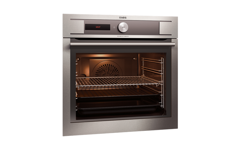 AEG 60cm MaxiKlasse multi-function Pyrolitic Oven BP931460AM