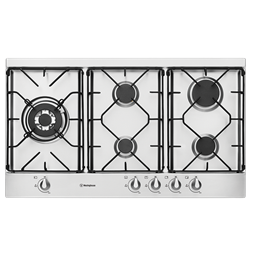 90cm stainless gas cooktop