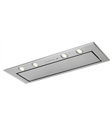 99cm integrated rangehood, stainless steel: DGE5160HM