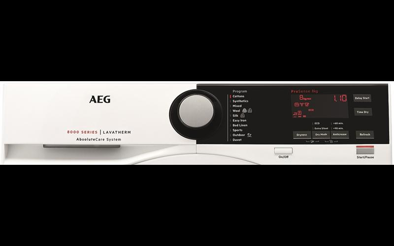 AEG 8000 Series 8kg Heat Pump Dryer T8DHE842B