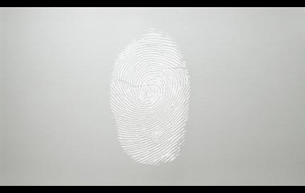 Fingerprint-resistant stainless steel doors