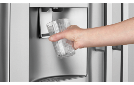 Filtered Ice and Water Dispenser
