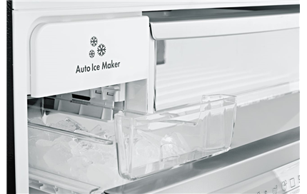 Automatic icemaker means you will always have ice available