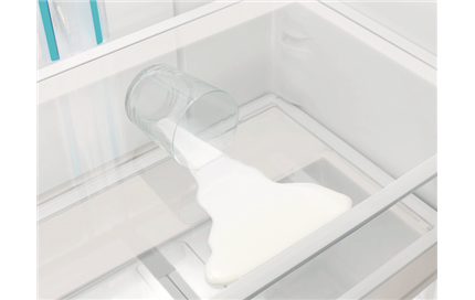 SpillSafe™ Glass Shelves