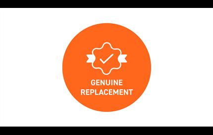 Genuine range hood filter replacement